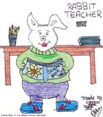 Rabbit Teacher by Virkein Dhar
